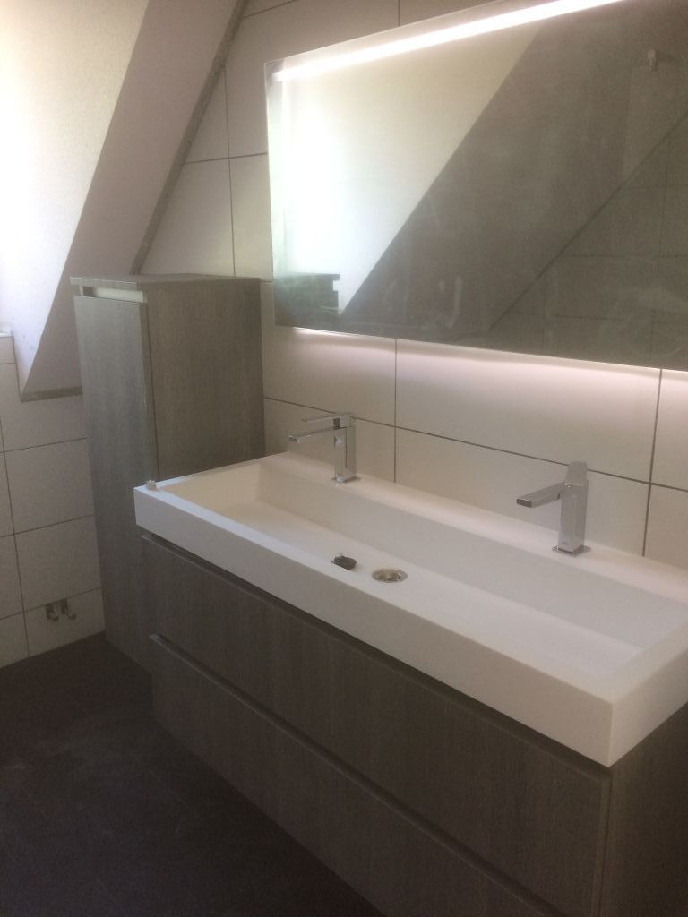 Badkamer renovatie in Zuidland