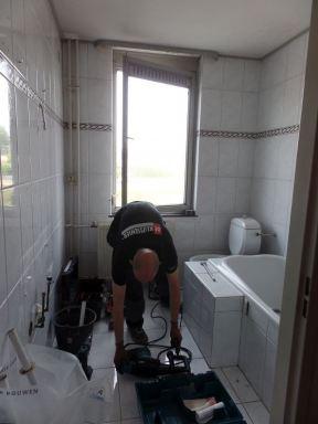 Badkamer renovatie te Geleen