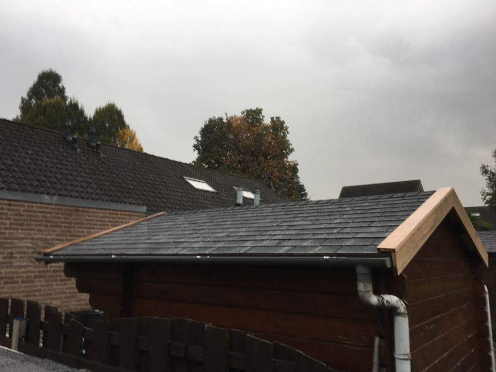 Dak vernieuwen tuinhuis Bemmel
