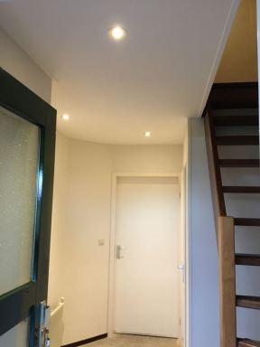 Verlaagd plafond met led-spots Pannerden