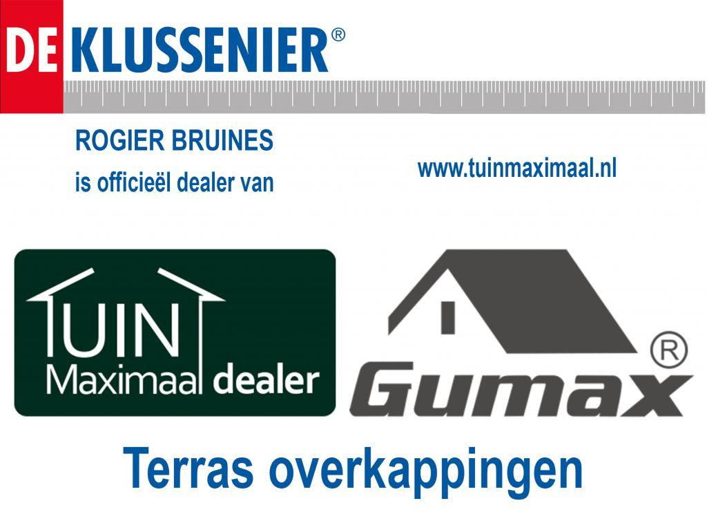 Officiële dealer Tuinmaximaal Terrasoverkappingen