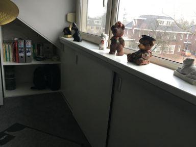 Schuifdeur systeem geplaatst op zolder in Nuenen
