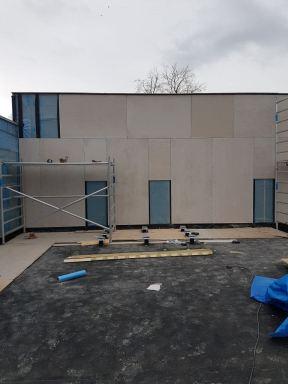 Renovatie van een school in Arnhem