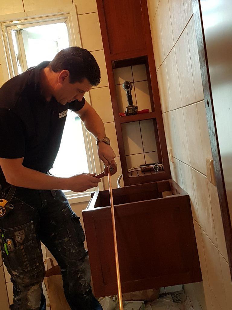 Renovatie badkamer Alkmaar.