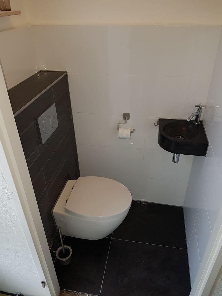 Renovatie toilet SintPancras