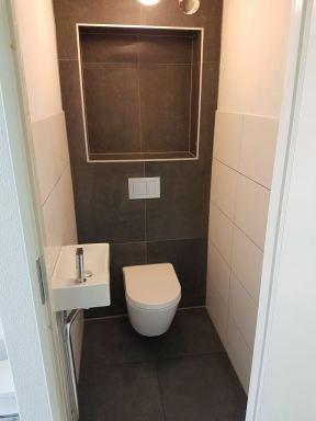 Renovatie toilet Heerhugowaard.