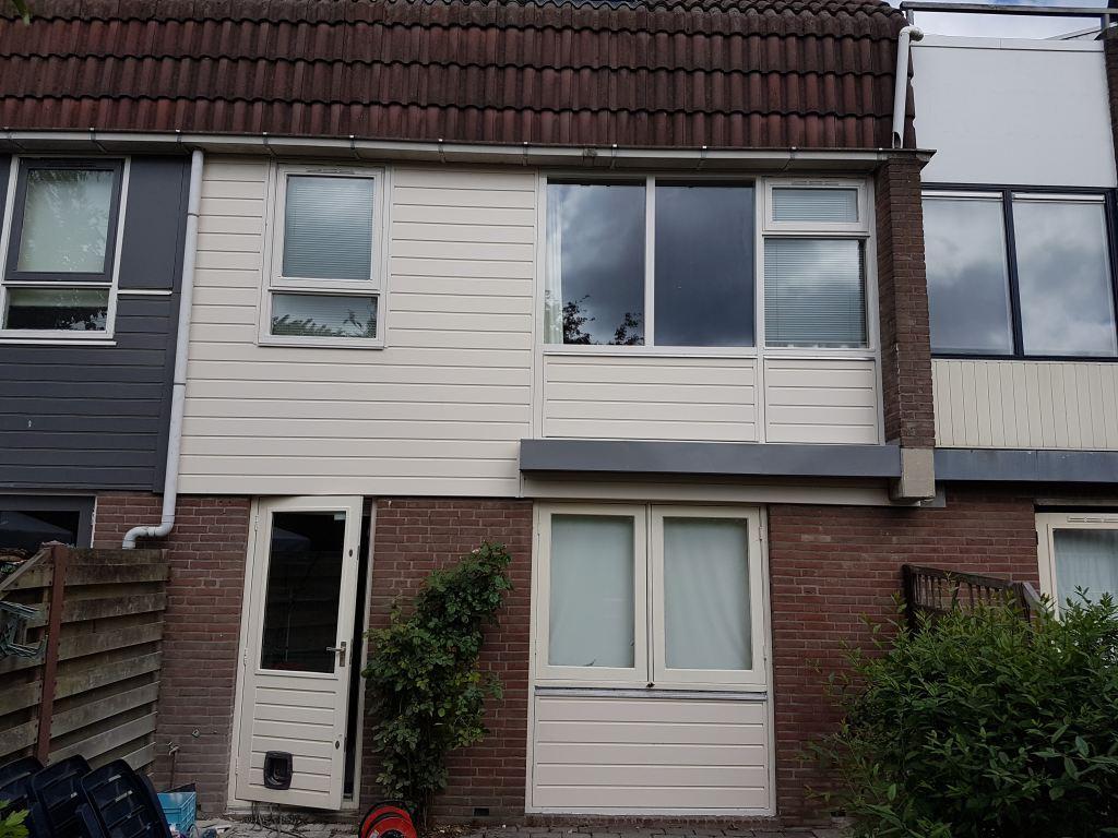 renovatie achtergevel, keralit, Alkmaar