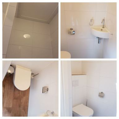 Toilet na renovatie