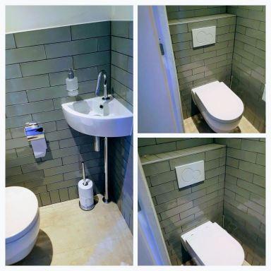 Toilet renovatie IJmuiden Klusbedrijf Haarlem