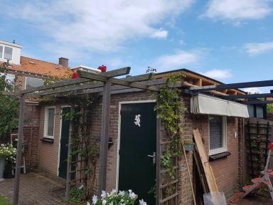 Nieuwe boeidelen en verlichting schuur Haarlem IJmuiden