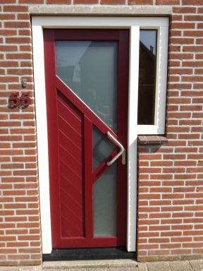 Kunststof deur kozijn Almere