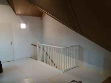 Klus scheidingswand inclusief deur op zolder in Lelystad