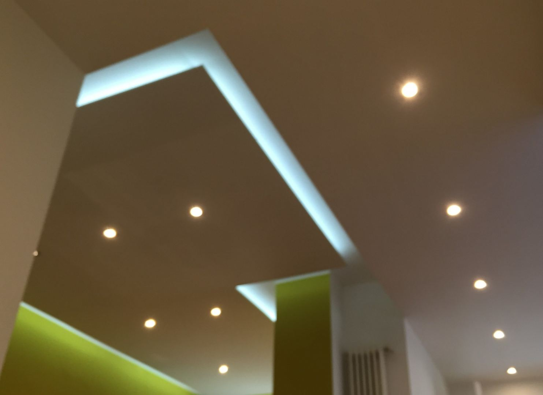 Klus verlaagd plafond met LED verlichting Lelystad - De Klussenier ...