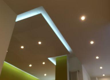 Klus verlaagd plafond met LED verlichting Lelystad