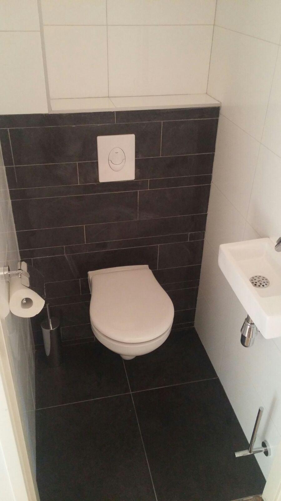 Verbazingwekkend Toilet renovatie - De Klussenier Pedro van Boxtel OU-39