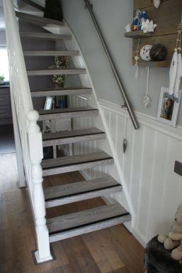 Renovatie van een trap in Lelystad door Klussenier.