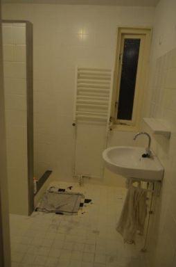 oude situatie badkamer in Almere