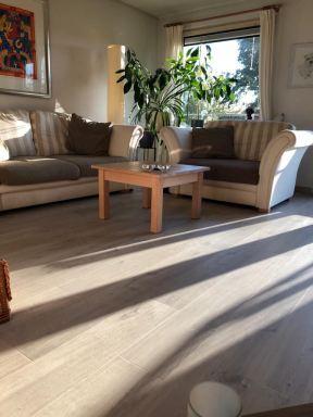 Nieuwe vloeren in woning Almere