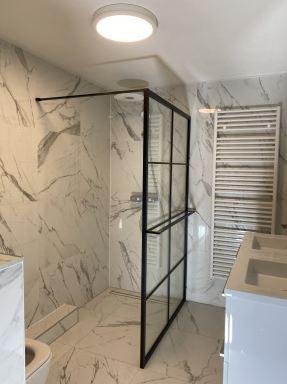 In Lelystad badkamer en toilet renovatie