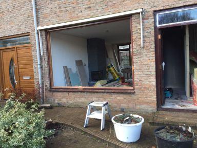 Aanpassen raamkozijn Heemskerk