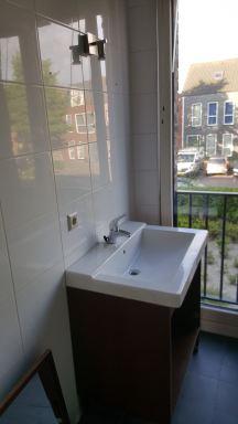 Badkamer wastafel meubel vervangen in Hoofddorp