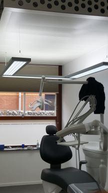 Verlichting in Tandartsen praktijk aanbrengen te Den Helder