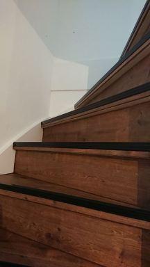 Renovatie van een trap in Hoofddorp