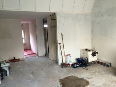 Binnendeuren + Kozijnen vervangen en bovenlichten dichtgezet in Aalten