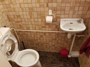 Toilet in oude staat Dordrecht