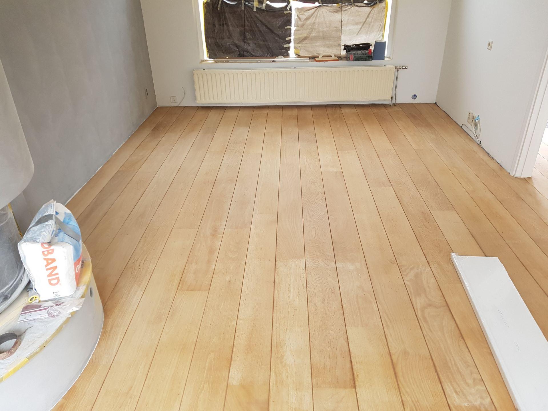 Houten vloer lakken floorsite