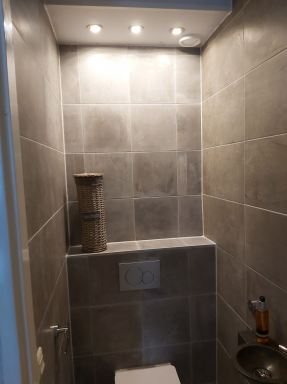 Toilet renovatie Alblasserdam