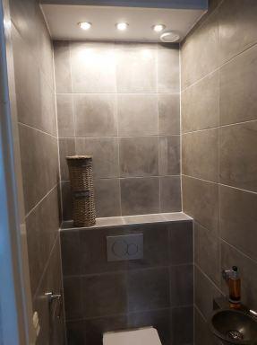 Toilet renovatie in Alblasserdam