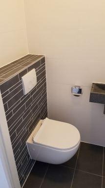 Toilet verbouwing Alphen aan den Rijn