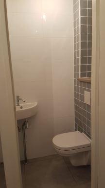 Toilet verbouwing Alphen a/d Rijn