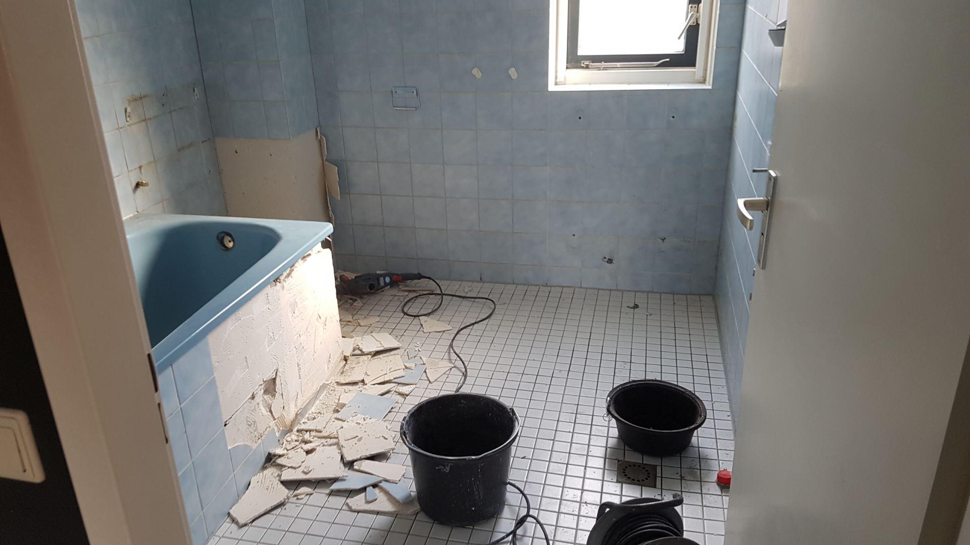 Badkamer renovatie Alphen aan den Rijn - De Klussenier Herman Bogaards