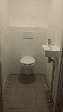 Toilet verbouwing Maassluis - tijdens 2