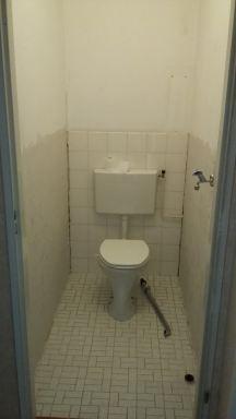 Toilet verbouwing Maassluis - voor