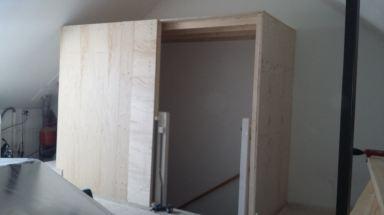 Zolderopbouw Naaldwijk - begin opbouw