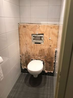 Renoveren Toilet Maassluis - voor