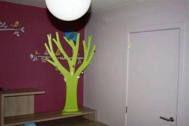 pleisterwerk en schilderwerk slaapkamer Ternat