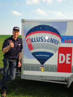 winnaars ballonvlucht 2018 Geschonken door de klussenier Tony Slock