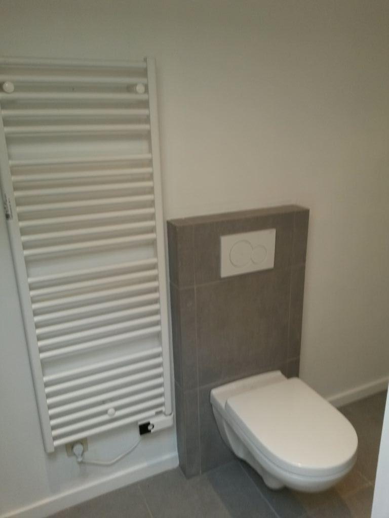 Plaatsen toilet