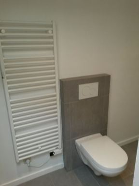 Plaatsen toilet te Gent