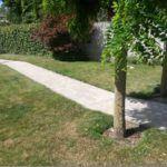 Aanleggen tuinpad te Sint Amandsberg