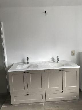 Landelijke meubel zonder spiegel