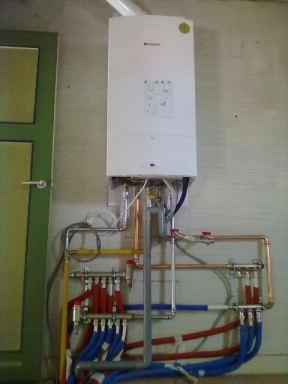 Nieuwe verwarming geplaatst in renovatie te Temse.