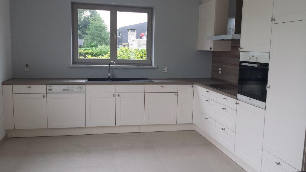 Nieuwe keuken te Belsele