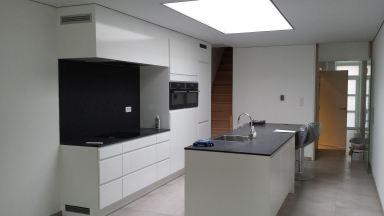 Keuken renovatie te Sint-Niklaas.
