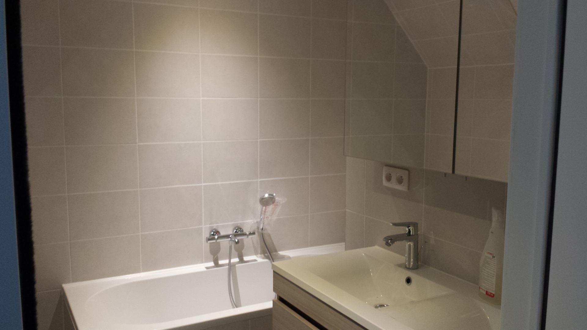 Badkamer Renovatie Edegem : Badkamer renovatie vloer en teglewerk te sint niklaas de