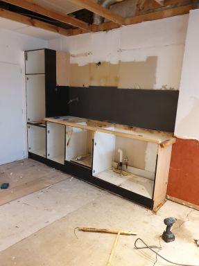 Keuken renovatie in Lokeren